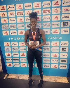 Podium France indoor St Brieux 09-02-2020